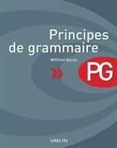 Wilfried Decoo - Principes de grammaire