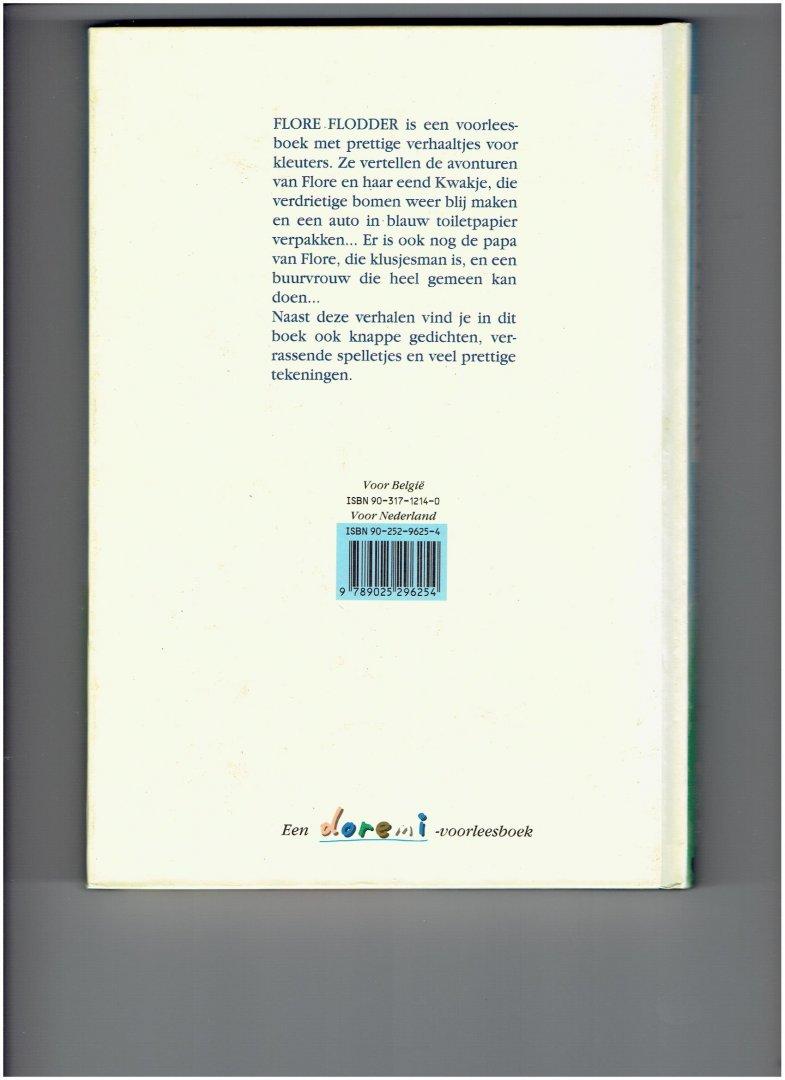 wille, riet / verplancke, klaas - flore flodder ( een bundel met nieuwe verhalen gedichten en spelletjes om voor te lezen, te vertellen en te spelen )