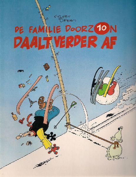 Jager, Gerrit de - Album 10 De  familie  Doorzon. Daalt verder af.