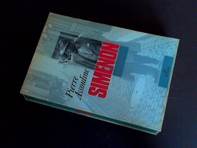Assouline, Pierre - Simenon - Een biografie