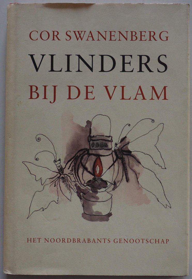 Swanenberg Cor Illustrator : Laat Nelleke de - Vlinders bij de vlam Deze novelle speelt zich af in het gebied van de Corridor in de provincie Noord Brabant tijdens de oorlog