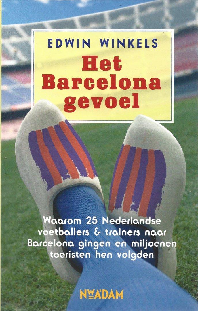 WINKELS, EDWIN - Het Barcelona gevoel -Waarom 25 Nederlandse voetballers & trainers naar Barcelona gingen en miljoenen toeristen hen volgden