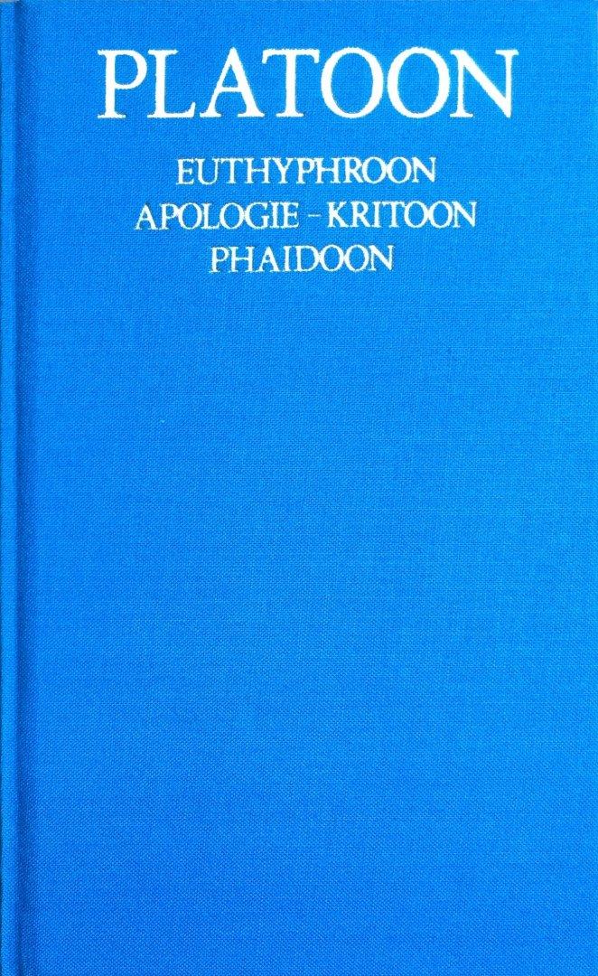 Platoon (Plato) - Euthyphroon - Apologie-Kritoon -Phaidoon (Platoon Verzameld werk 2)