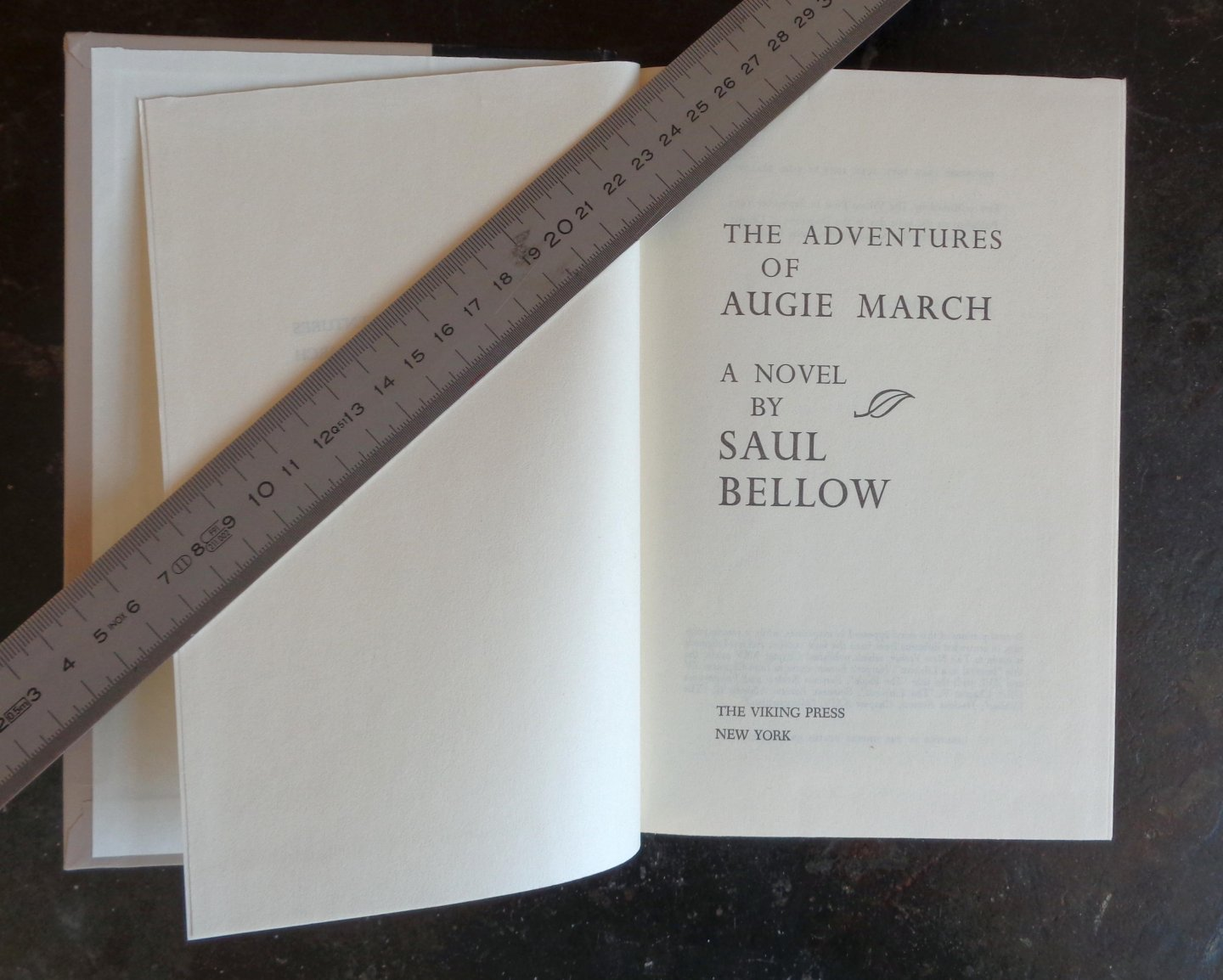 bellow, saul - The Adventures of Augie March