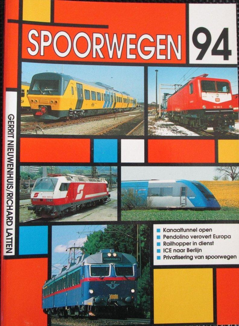 Nieuwenhuis, Gerrit / Latten, Richard - Spoorwegen 94