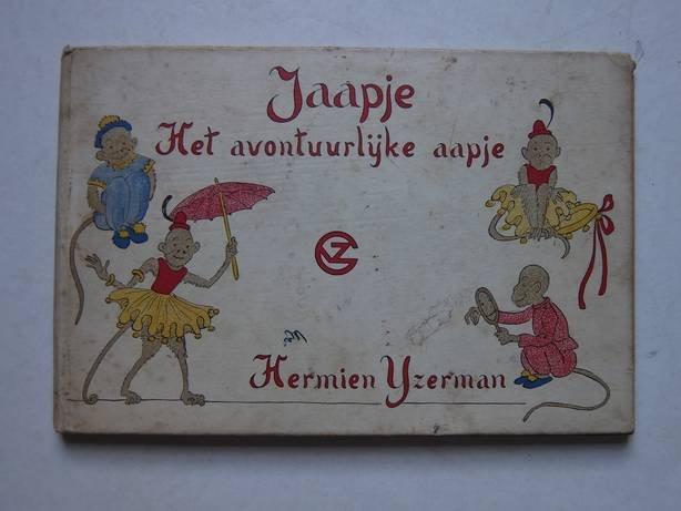 IJzerman, Hermien - Jaapje, het avontuurlijke aapje.