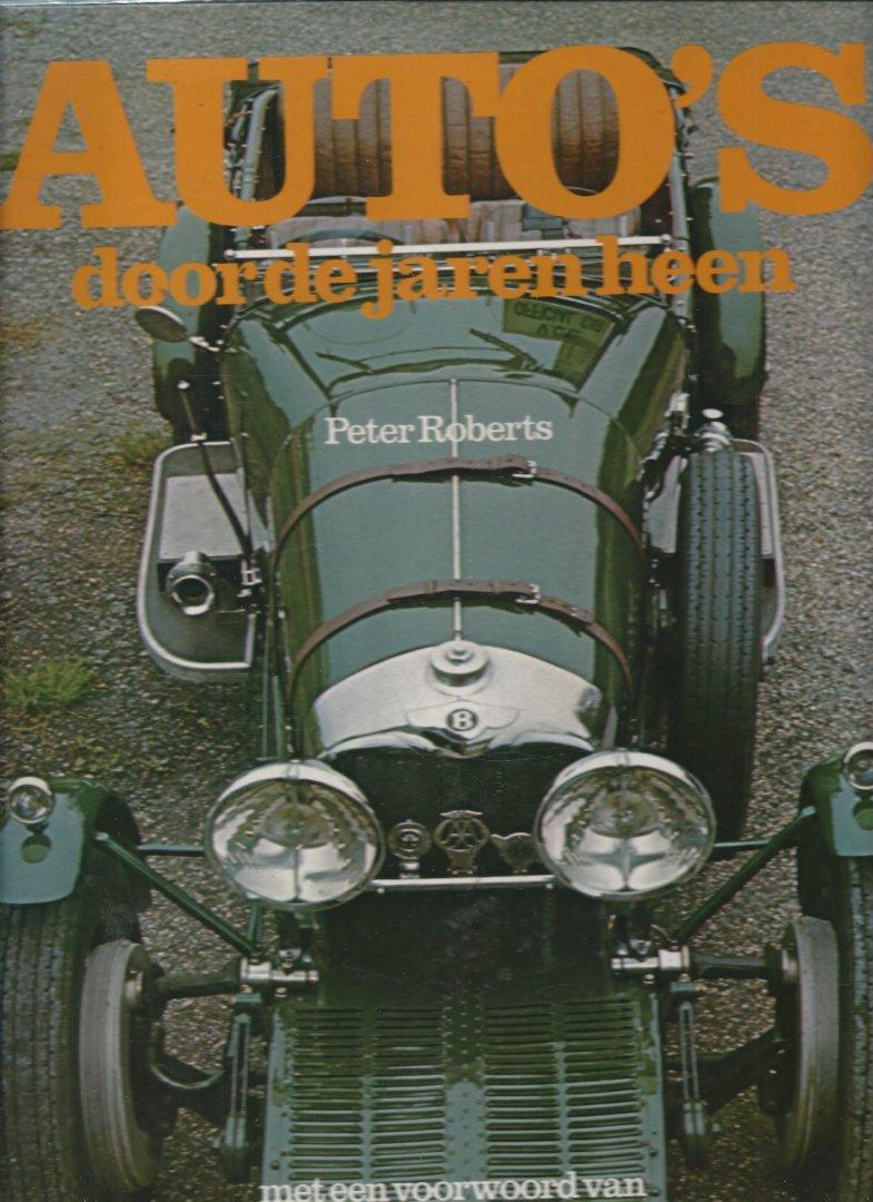 Roberts, Peter - AUTO'S DOOR DE JAREN HEEN