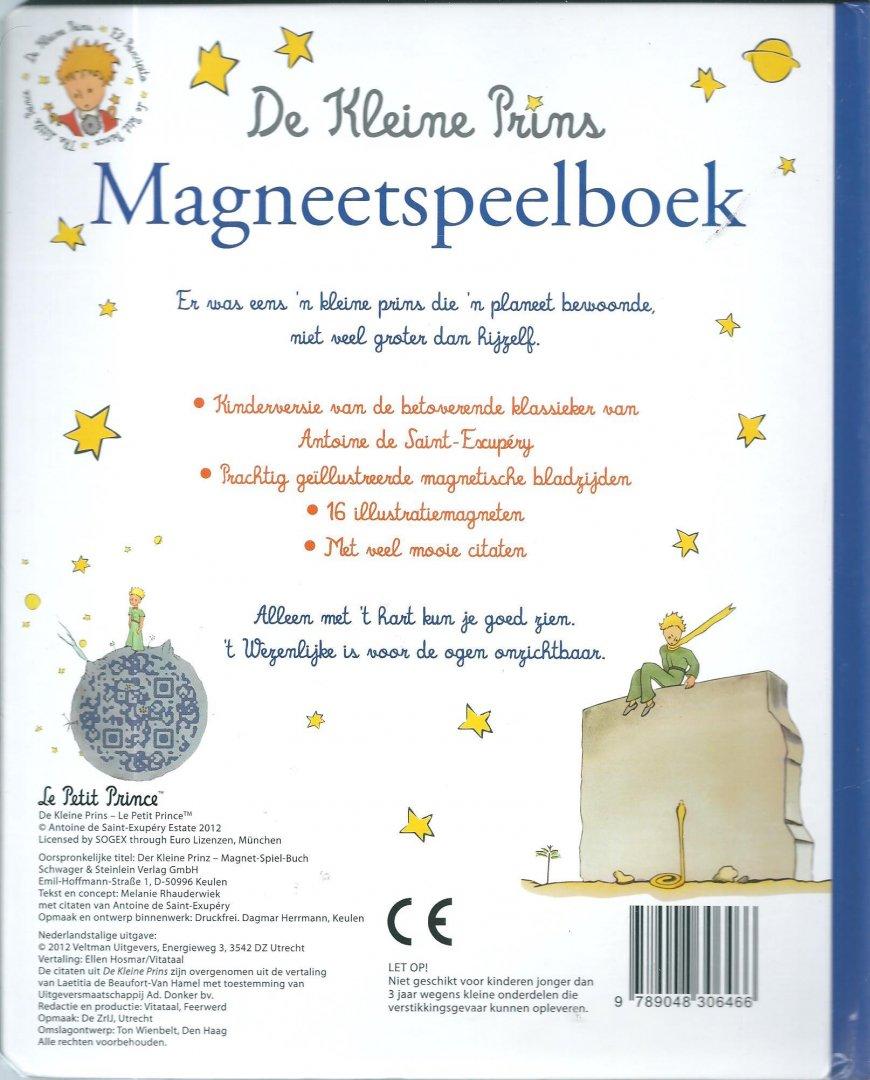 Boekwinkeltjesnl De Kleine Prins Magneetspeelboek