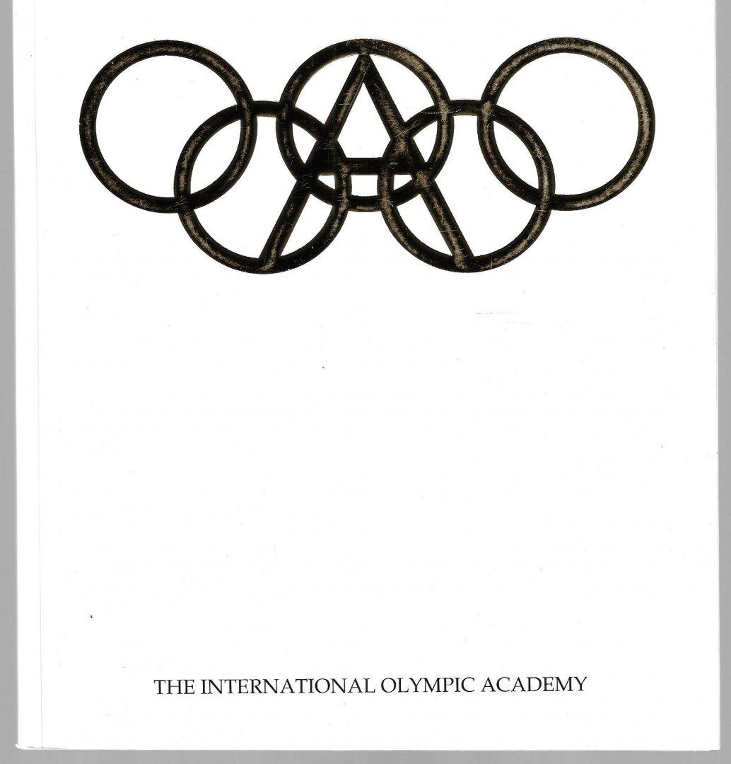 YALOURIS, DR. NICOLAOS - The International Olympic Academy