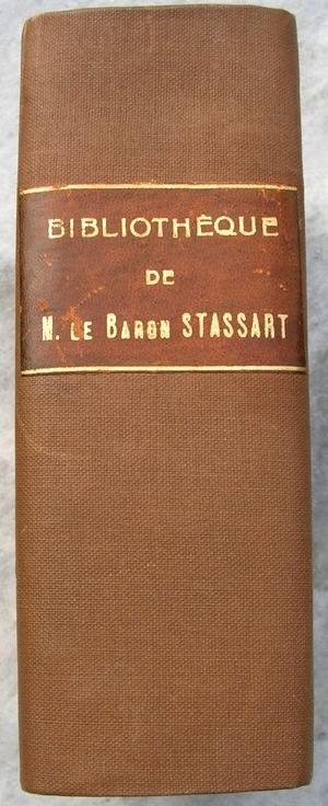 Edmond Marchal (ed.), Quetelet (inleiding) - Bibliothèque de M. le Baron de Stassart