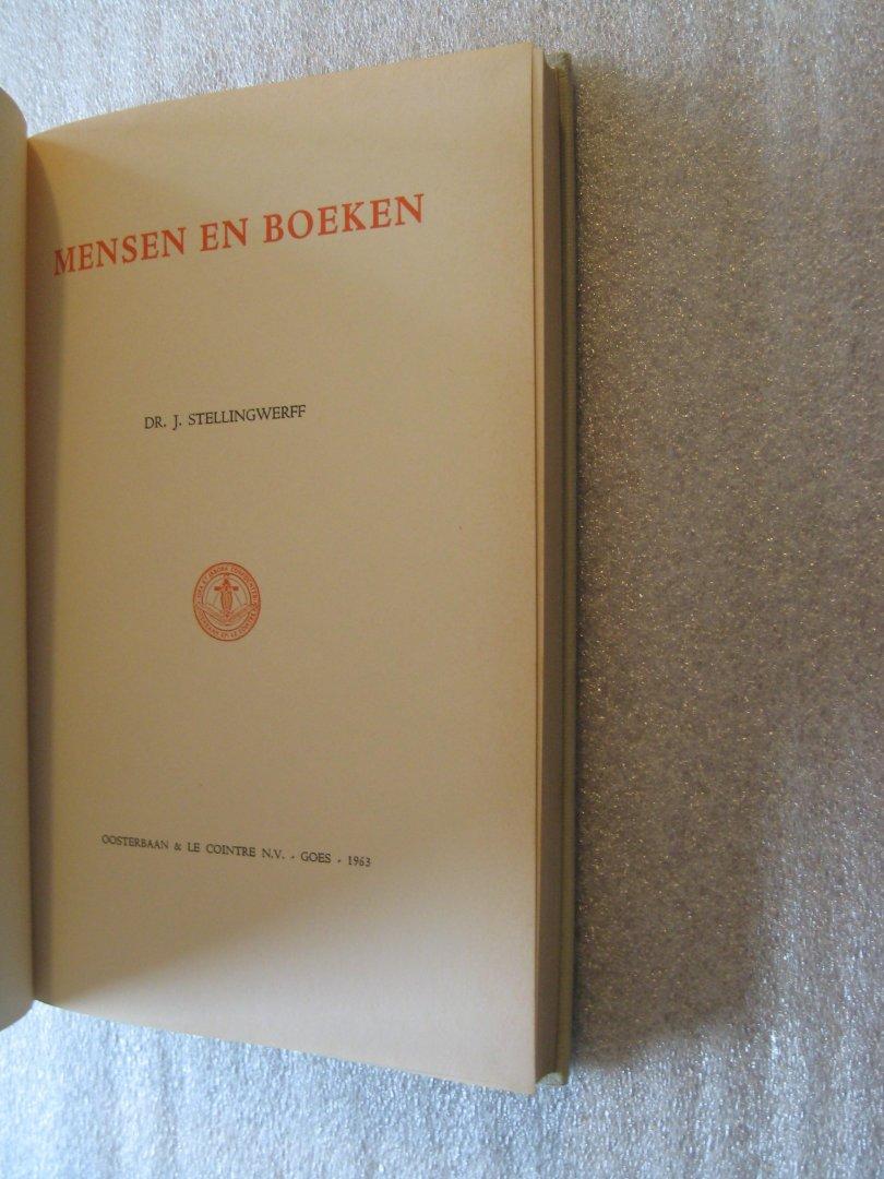 Stellingwerff, Dr.J. - Mensen en boeken