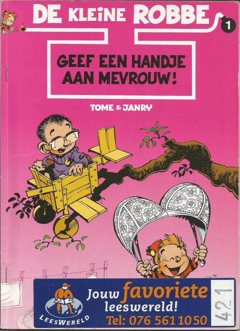 Tome / Janry - De kleine Robbe 1 - Geef een handje aan mevrouw!