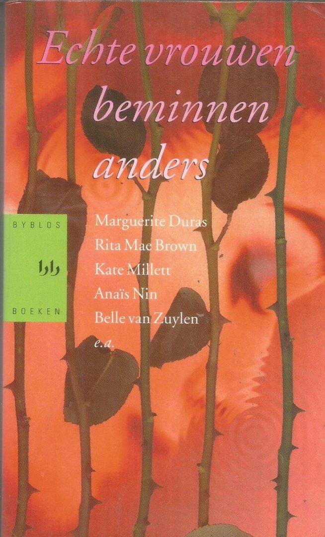 Duras / Brown / Millet / Nin en vele andferen - Echte vrouwen beminnen anders