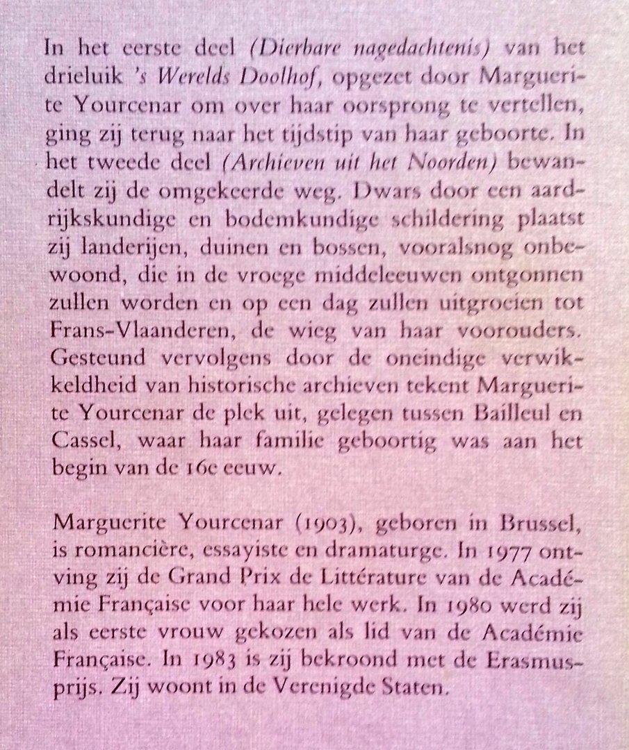Yourcenar, Marguerite - Archieven uit het Noorden