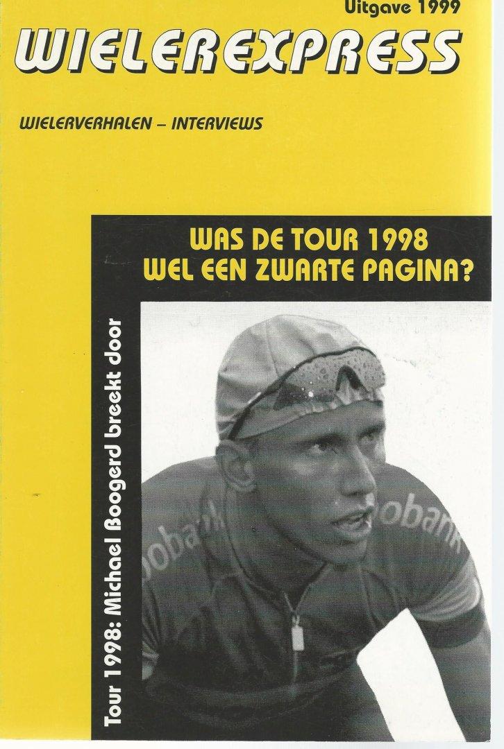 ZOMER, JAN - Wielerexpress 1999 -Wielerverhalen - interviews