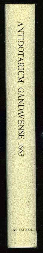 Antidotarium Gandavense 166...