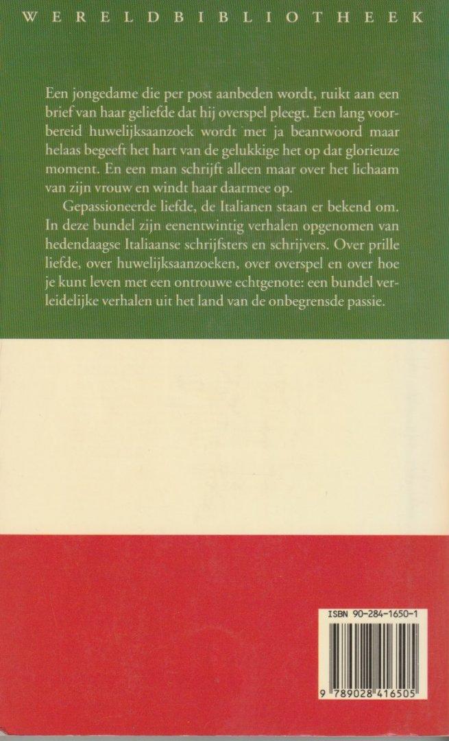 Warners, Marina (samensteller) - AMORE! 'ITALIAANSE LIEFDESVERHALEN. 'In deze bundel zijn eenentwintig verhalen opgenomen van hedendaagse Italiaanse schrijfsters en schrijvers.'