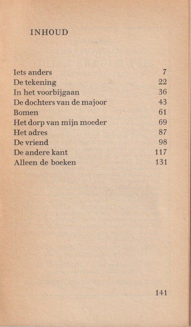 Minco, pseudoniem van Sara Menco (Ginneken, 31 maart 1920), Marga - De andere kant - verhalen