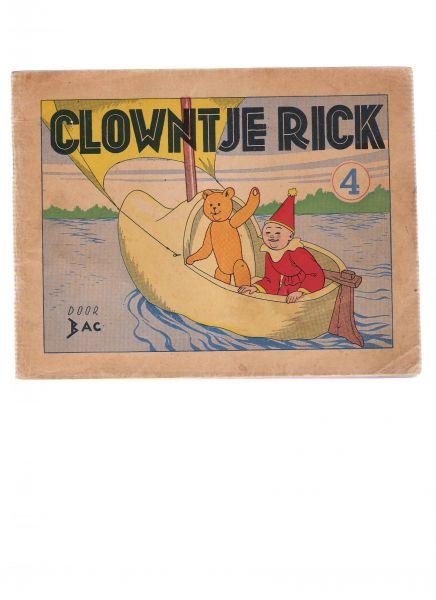 backer, h.h. - de avonturen van clowntje rick ( 4e serie )