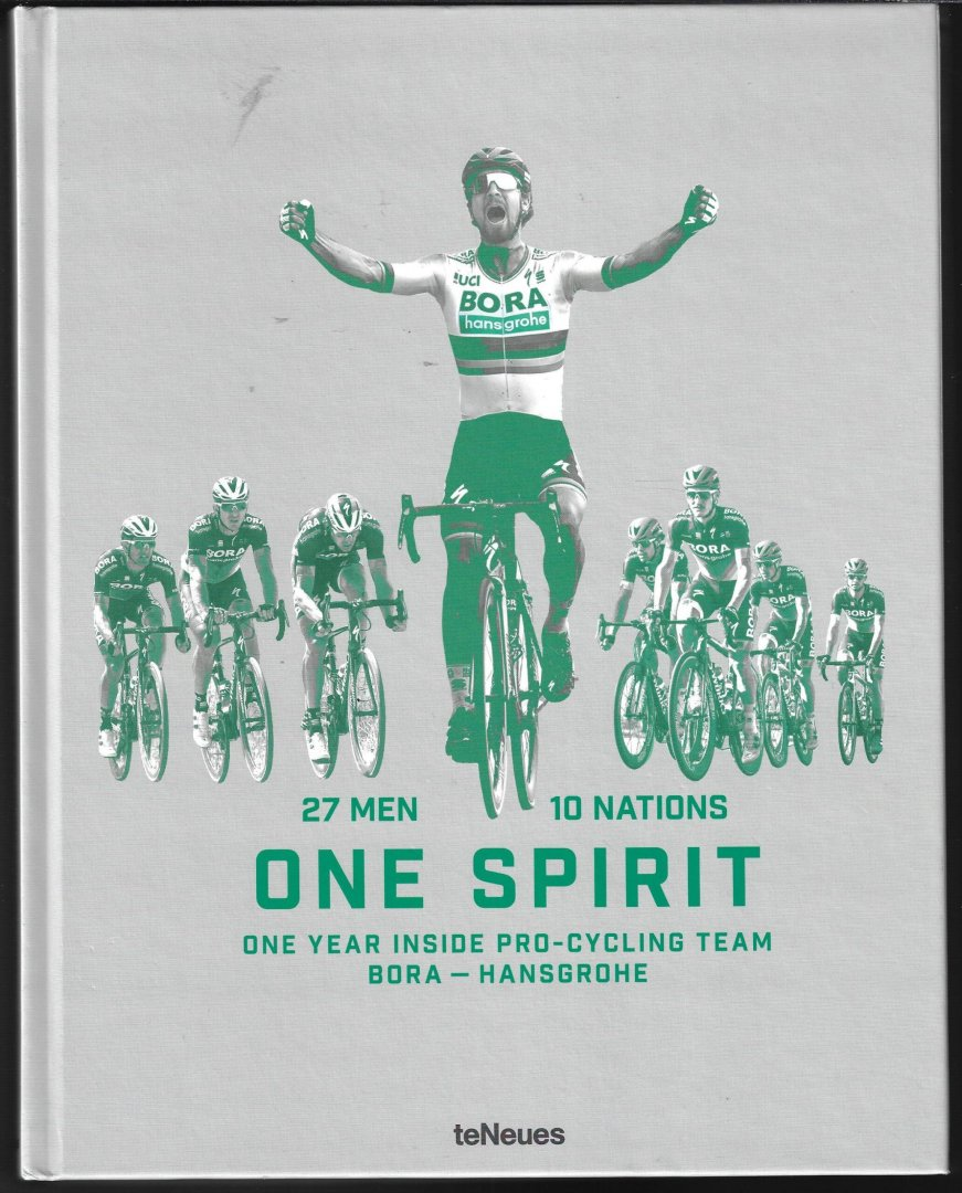 VIELE - 27 men 10 nations One Spirit -One year inside pro-cycling team Bora-Hansgrohe