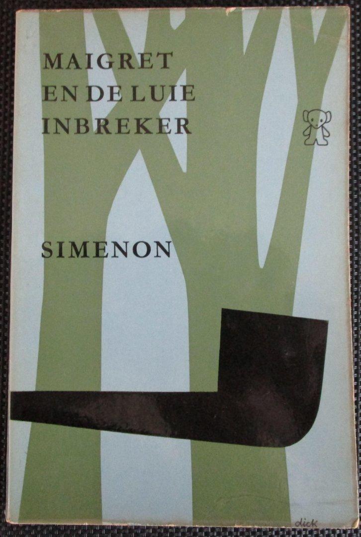 Simenon - Maigret en de luie inbreker