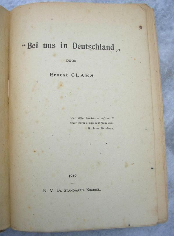 Claes, Ernest - Bei Uns In Deutschland