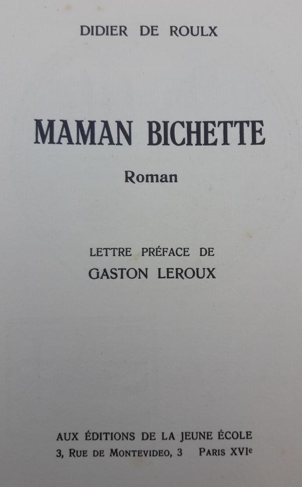 Didier de Roulx - Maman Bichette