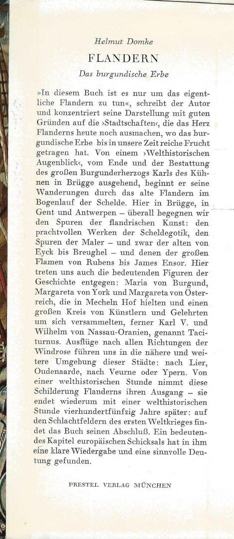 Domke, Helmut - FLANDERN - DAS BURGUNDISCHE ERBE