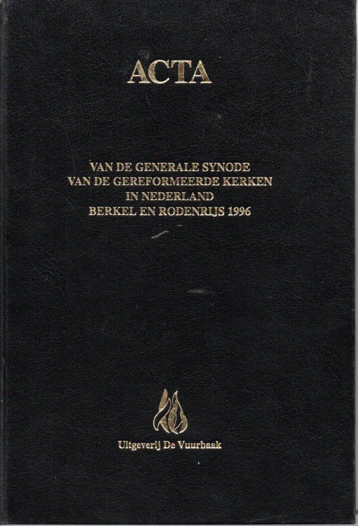 - ACTA van de G.S./ van de Gereformeerde Kerken in Nederland / Leeuwarden 1990