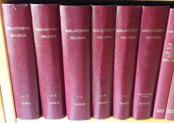 Van der Haeghen, Ferdinand - Bibliotheca Belgica. Bibliographie Générale des Pays-Bas