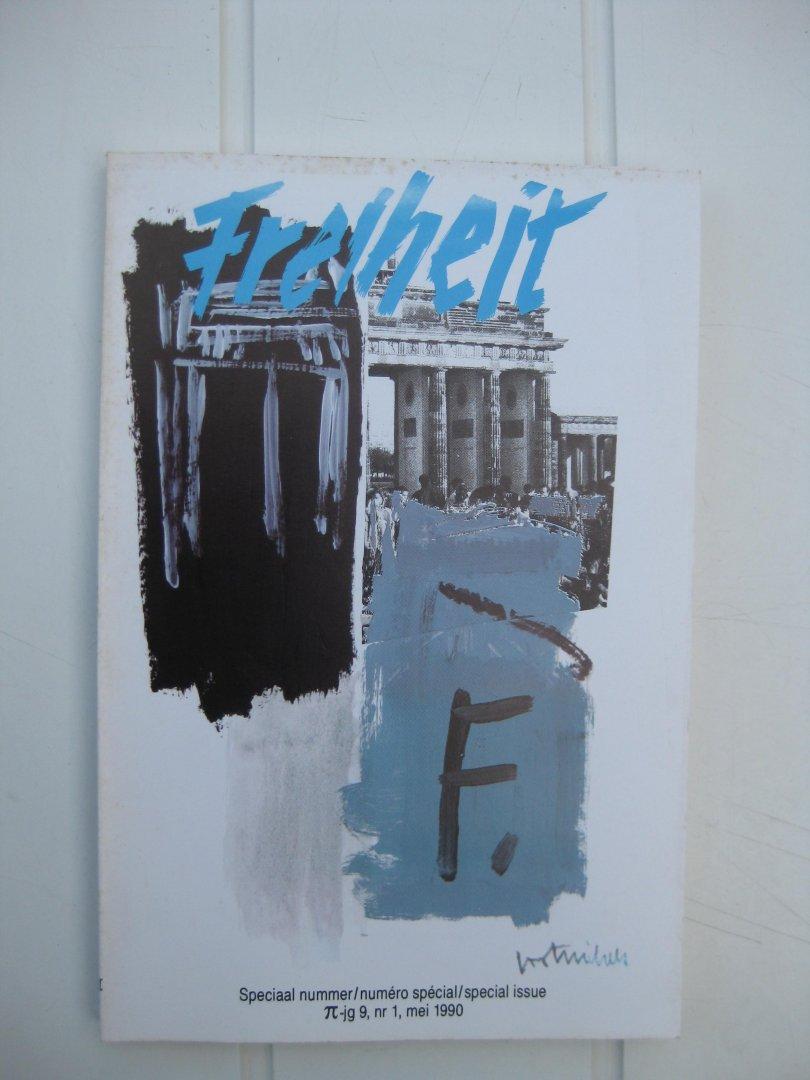 Itterbeek, Eugène Van- (verzameld en ingeleid door -) - Freiheit Hedendaagse gedichten uit Midden- en Oost-Europa