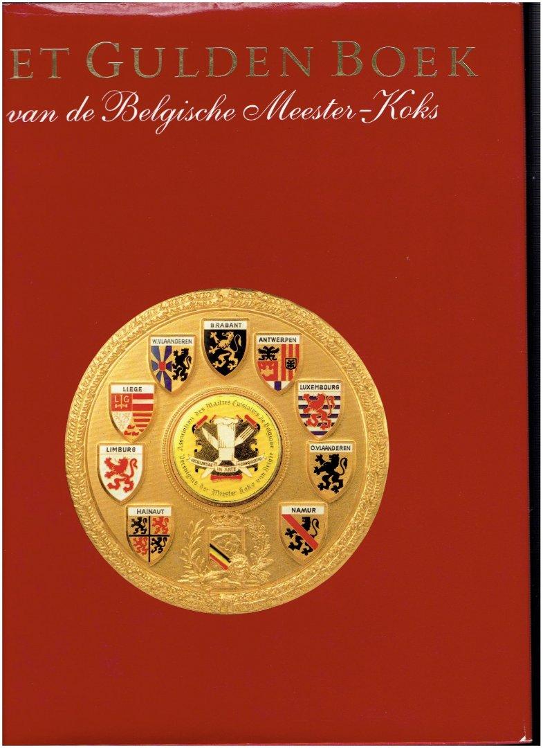 cocquyt, etienne & willems, louis - het gulden boek van de belgische meester-koks ( met vele prachtige foto,s )