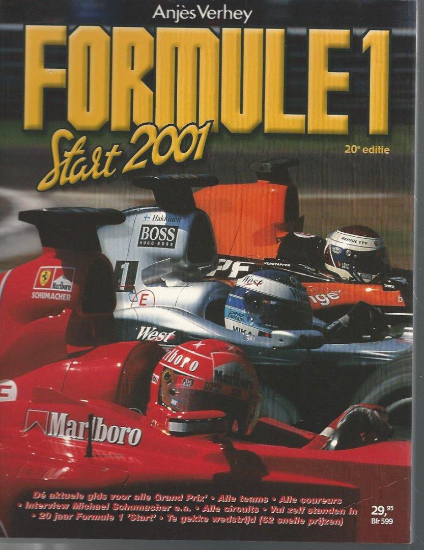 VERHEY, ANJèS - Formule 1 Start 2001