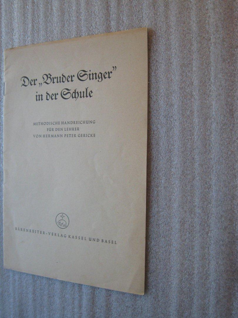 """Nitsche, Paul / Twittenhoff, Wilhelm - Spielt zum Lied / Lieder mit Instrumentalbegleitung für die Schule / incl. Der """"Bruder Singer in der Schule"""" Methodische Handreichung"""