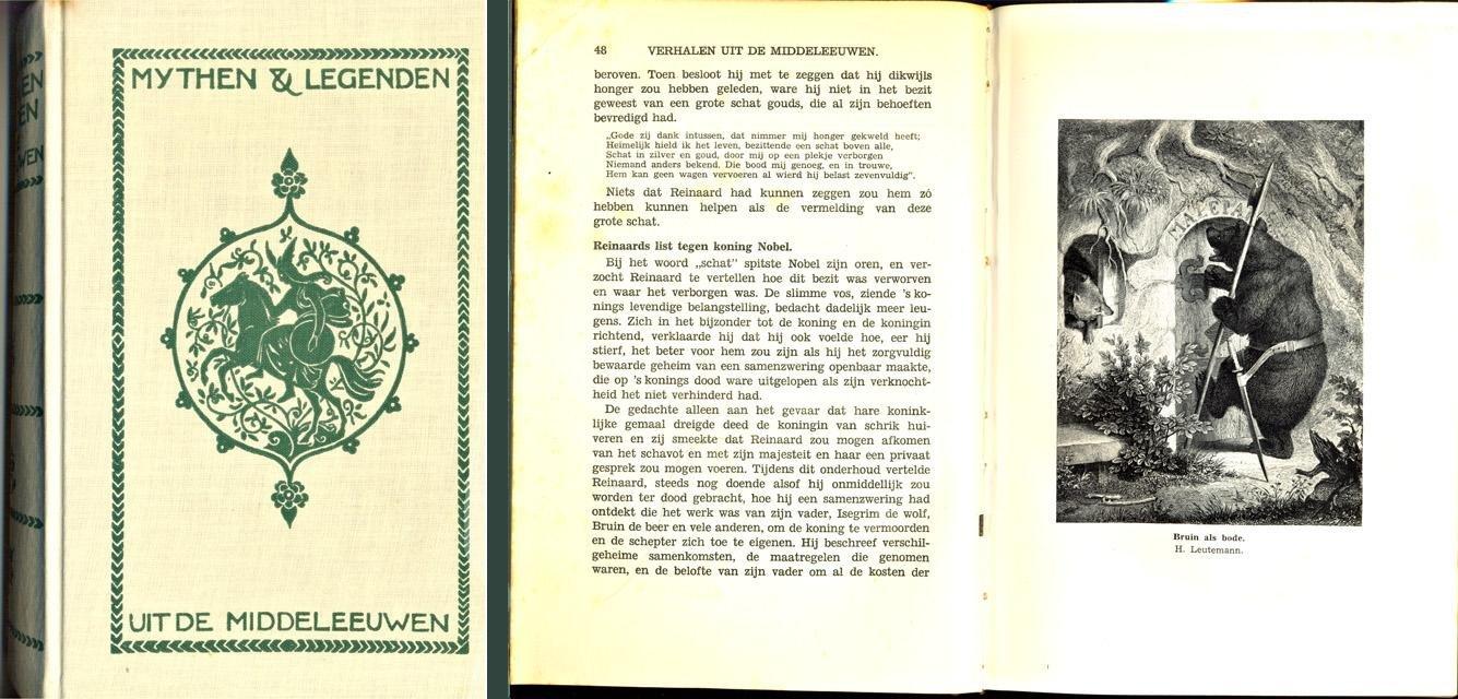 Guerber, H.A. (samenst.) - Mythen en legenden uit de middeleeuwen. Haar oorsprong en invloed op letterkunde en kunst