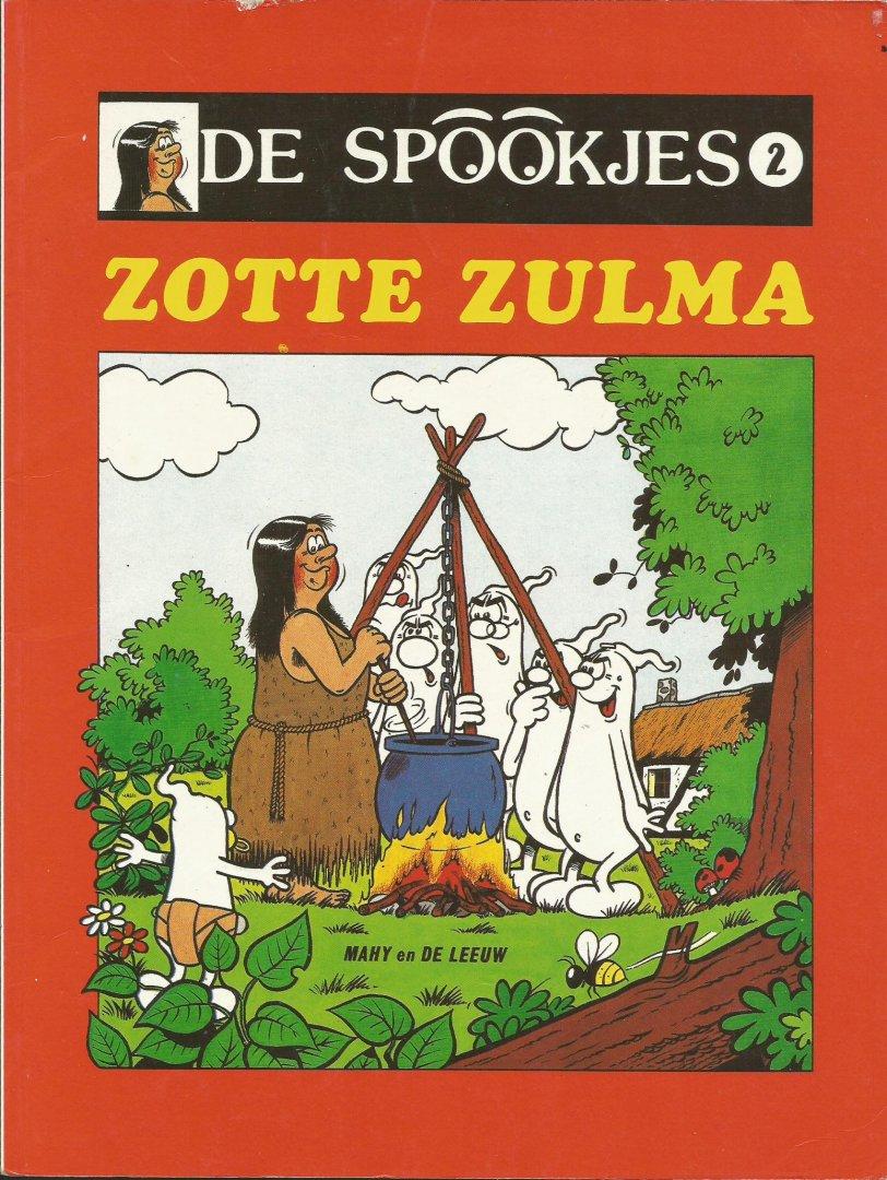 Mahy / de Leeuw - De Spookjes 2 - Zotte Zulma