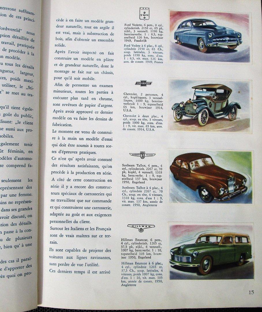 Héraux, Jean - Tekeningen automodellen Fred Julsing - VAN KOETS TOT STROOMLIJN - du carrosserie á la voiture aérodynamique.