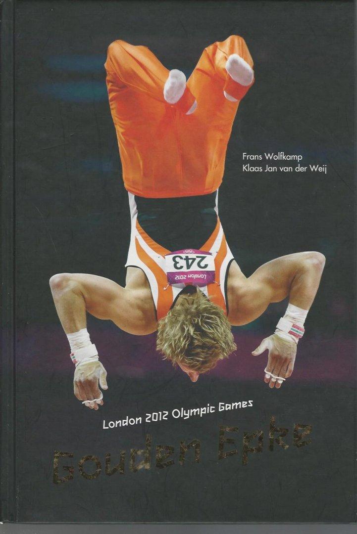 WOLFKAMP, FRANS EN WEIJ, KLAAS JAN VAN DER - Gouden Epke -Londen 2012 Olympic Games