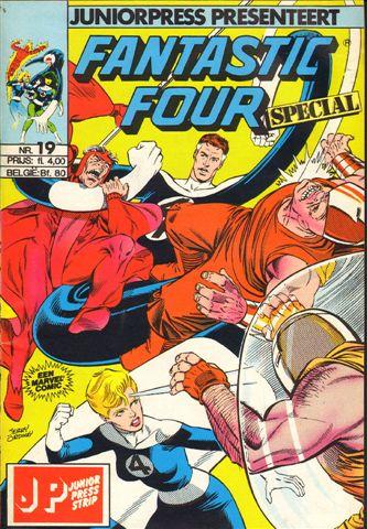 Junior Press - Fantastic Four Special nr. 19 ,  geniete softcover, goede staat