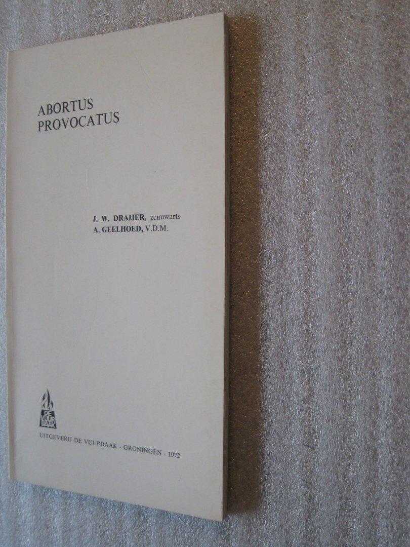Draijer,J.W. en Geelhoed,A. - Abortus provocatus