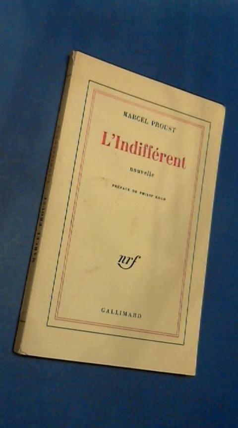 Proust, Marcel - L'indifferent