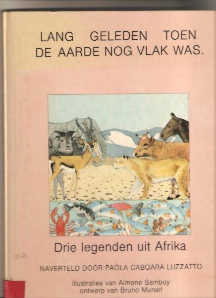 Boekwinkeltjes nl - Lang geleden toen de aarde nog vlak was