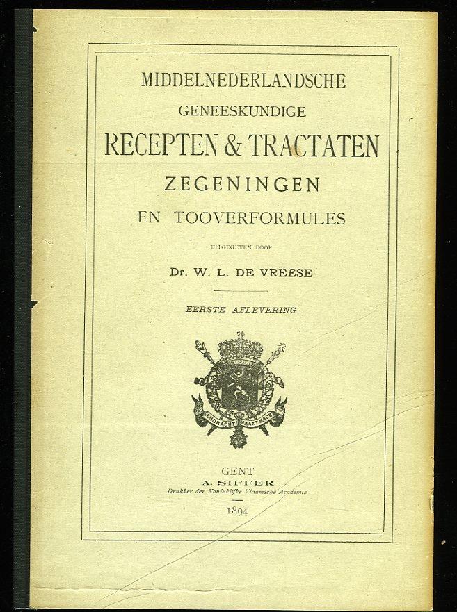 Middelnederlandsche Geneesk...