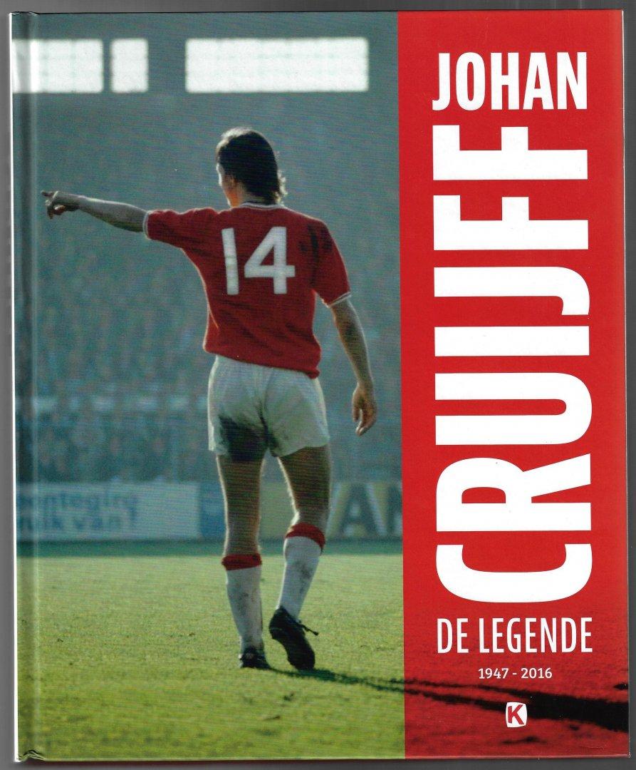 VERKAMMEN, MATTY / VISSER, JAAP / WINKELS, EDWIN / DERKSEN, JOHAN - Johan Cruijff de Legende -De legende 1947-2016