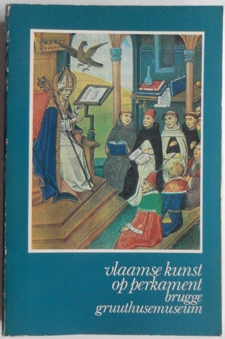 Loup, Willy Le - Vlaamse kunst op perkament Handschriften en miniaturen te Brugge van de 12de tot de 16de eeuw. Tentoonstelling ingericht door de stad Brugge in het Gruuthusemuseum 18 juli - 18 oktober 1981 Met krantenknipsel