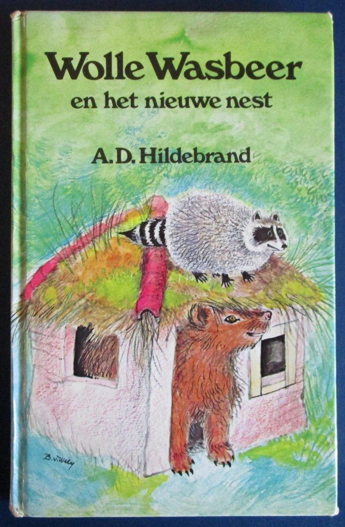 Hlidebrand, A.D. - Wolle Wasbeer en het nieuwe nest