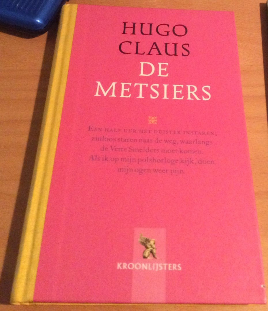 Boekwinkeltjesnl Claus Hugo De Metsiers