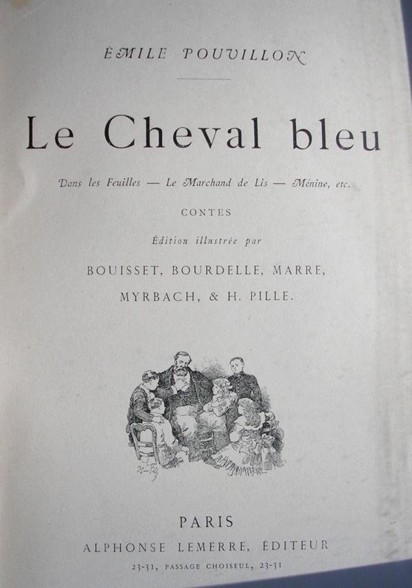 Emile Pouvillon - Le Cheval Bleu