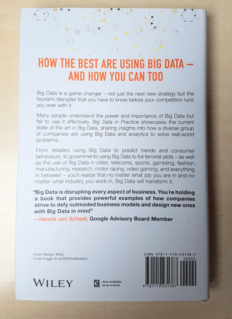 big data in practice how 45 successful companies used big data analytics to deliver extraordinary results