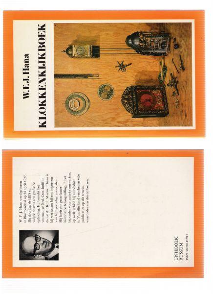 hana, w.f.j. - klokkenkijkboek
